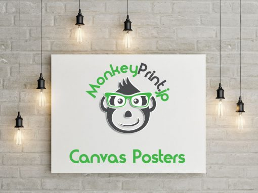 Monkey Print Canvas Posters