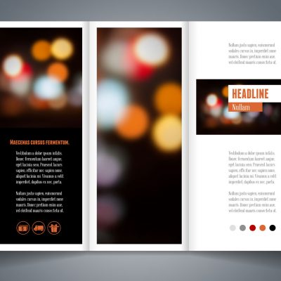 A4 Trifold Flyer